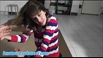 Lapdance, BJ, and fingering with cute teen