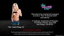 Sexy coed Tasha Reign gets pussy fucked