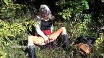 Shy teen blonde exhibitionist Lissas public fla...