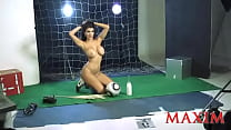 Andrea Rincon Sabrina Ravelli para Maxim Argentina