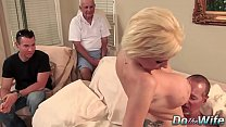 creampie anal cock big wife milf Blonde