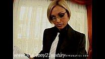 Blonde MIL FSzilvia Lauren  in threesome action