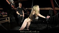 Kinky Skinny Blonde Teen Tied Up Punished Submi...