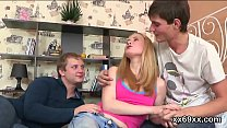 boyfriend assists with hymen examination and banging of virgin teenie