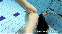 anna   nude swimming underwater