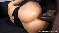 Секс с блондинкой га улице