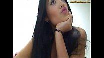 cam on herself fucks veronica slut Latina