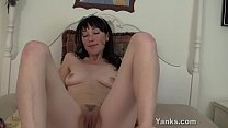 pussy her toy amelia brunette Cute