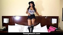 teenyblack – sexy canadian ebony porn debut