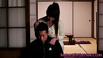 Mature Japanese Hitomi Tanaka titty fuck porn videos