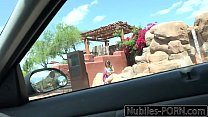 Petite Teen Kimmy Granger Fucks Uber Driver thumbnail