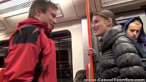 casual teen sex   from a ride to hot sex