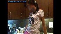 masturbate kitchen Teen