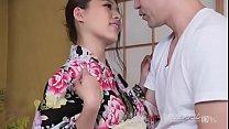 uncensored   sexy asian aoi mizuno on kimono masturbate