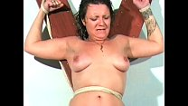 Smutty Shaz electro agony of mature uk housewife