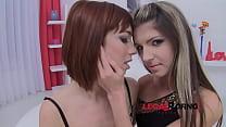 Tina Hot & Gina Gerson 0% pussy (horny sluts lo...