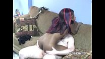 ebony revay takes white dick in her wet pussy