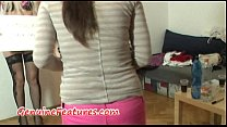 tai phim sex -xem phim sex Real czech blonde does BJ during interview