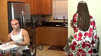 Madisin Lee in I Really Want a Baby Son. Mom has her son impregnate her.Creampie