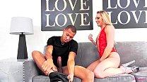 AJ Applegate loving a big black cock to play with