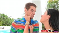 India Summer and Lola Foxx nasty orgy with hand...