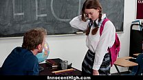 innocenthigh   shy schoolgirl fucks her speech teacher