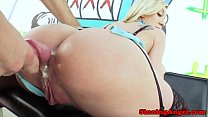 drilled ass gaping her gets brooke Amy