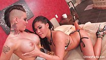 christy mack and london keyes threesome fuck