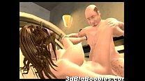 3D Busty Teen Loves Old Men!
