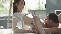 Small titted teen Tera Link