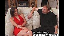 Hot Brunette Slut Wife Training!