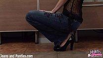 jeans skinny into stuffed tatiana teen Pigtailed