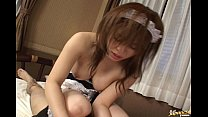 Sweet japanese maid , cute sex