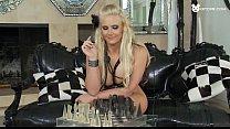 Грудастая блондинка проходит медосмотр видео