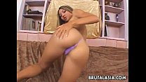 Asian couple in a rough anal sex action porn videos