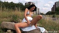 Sexy milf Susannahs public masturbation and brunette babes outdoor pussy porn videos