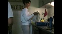 amateur sex in the kitchen