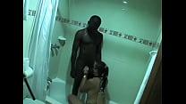 Interracial hubby films wife cuckold