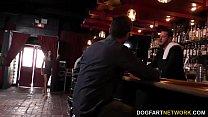 Ashley Pink gets gangbanged on a pool table thumbnail