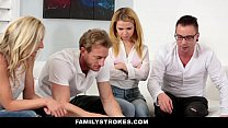 familystrokes family game night orgy