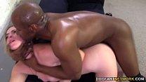 cock black huge a by fucked anal gets sanders Sierra