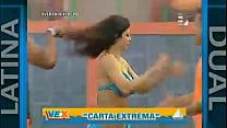 Claudia Ramirez MUESTRA más de la cuenta en VER...