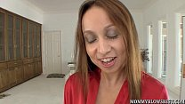 Cheating wife Julia Silver showing off oral skills