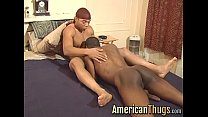 Black american thug getting pounded hard in his...