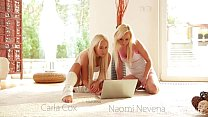 Naomi Nevena and Carla Cox Eat Each Other's Pus...