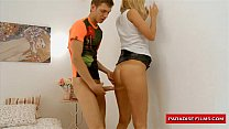 blonde young a for creampie anal films Paradise