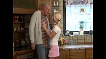 horny old daddy and blonde daughter
