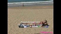 dildo pink angel Alison