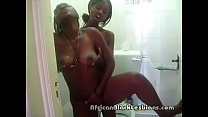2 big booty african lezzies wash each ohters coochies in showere shower.mp4 1
