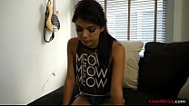 Skinny teen pounded by naughty stepbro big thic...